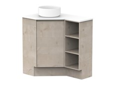 Emporia Corner 600x900 with Open Shelves