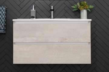 Glacier Ceramic All-Drawer Ensuite